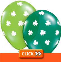 St Patricks Day Latex Balloons
